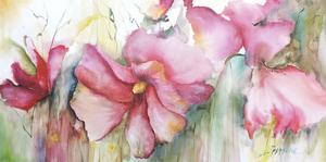 Horizontal Flores III by Leticia Herrera