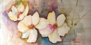 Horizontal Flores VII by Leticia Herrera