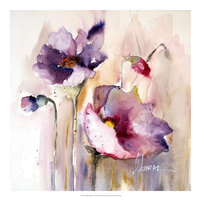 Plum Poppies I
