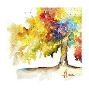 Rainbow Trees I by Leticia Herrera