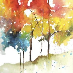 Rainbow Trees II by Leticia Herrera