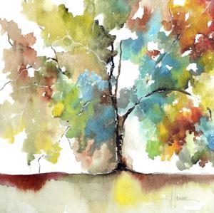 Rainbow Trees III by Leticia Herrera