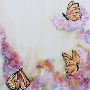 Tres Monarchas by Leticia Herrera