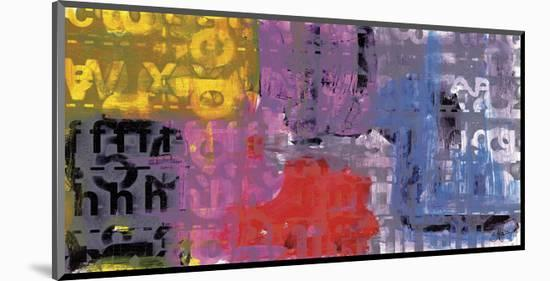 Letra Art XI-Sven Pfrommer-Mounted Art Print