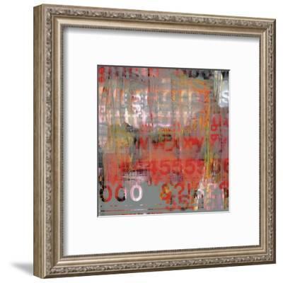 Letra Art XII-Sven Pfrommer-Framed Art Print