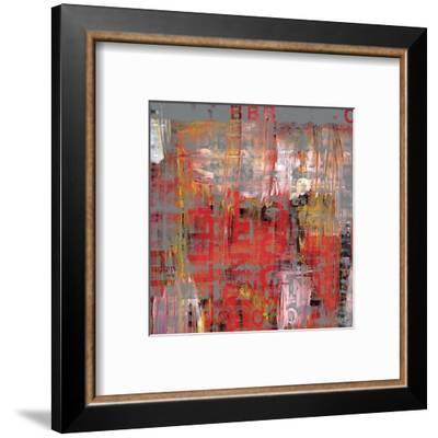 Letra Art XIII-Sven Pfrommer-Framed Giclee Print