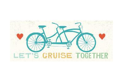 Lets Cruise Together II-Michael Mullan-Art Print
