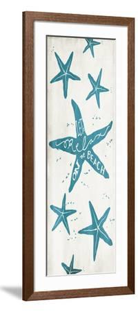 Lets Relax On The Beach-Jace Grey-Framed Art Print