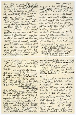 Letter from Elizabeth Barrett Browning to Henry F Chorley, 1859-Elizabeth Barrett-Giclee Print