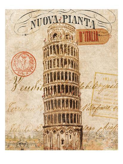 Letter from Pisa-Hugo Wild-Premium Giclee Print