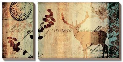 Letter II-Fernando Leal-Canvas Art Set