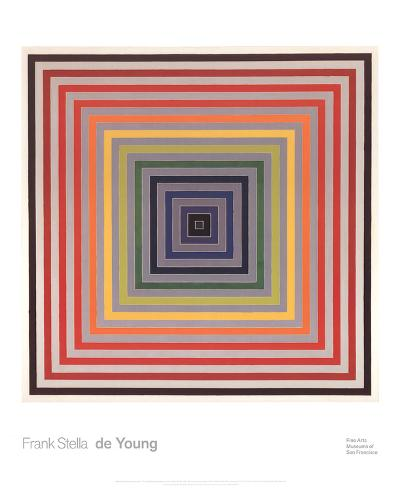 Letter on the Blind II-Frank Stella-Art Print
