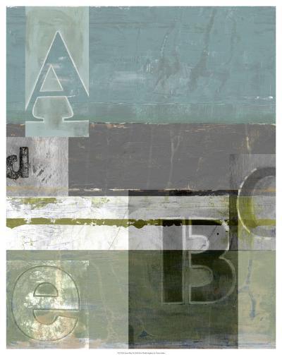 Letter Play I--Art Print