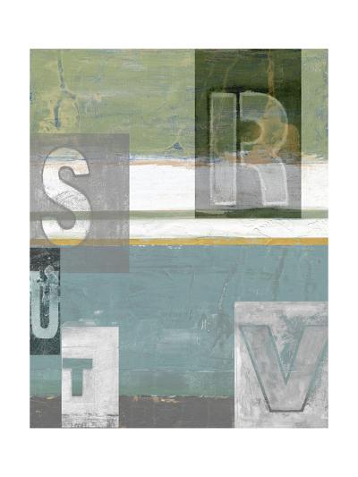 Letter Play II-Vision Studio-Art Print