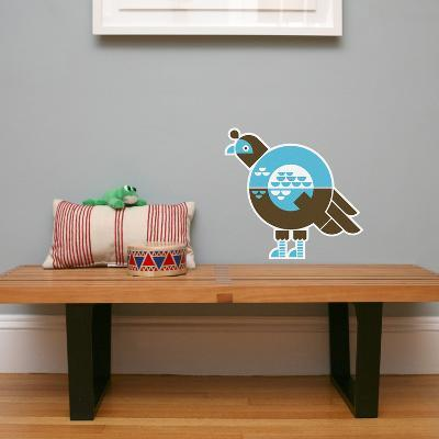 Letter Q - Quinnlyn the Quail Wall Decal-Wee Society-Wall Decal
