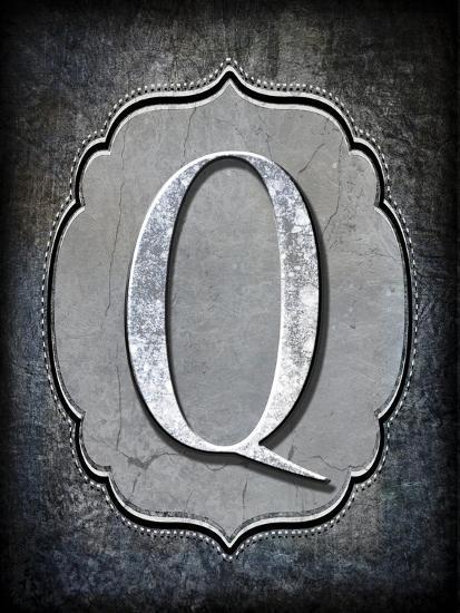 Letter Q-LightBoxJournal-Giclee Print