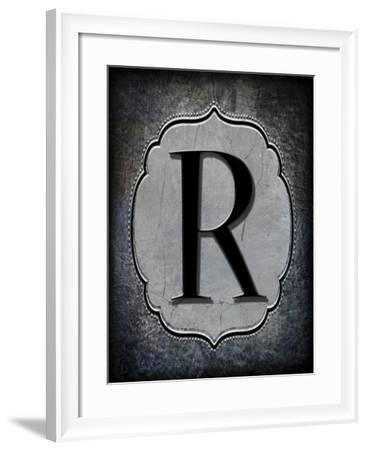 Letter R-LightBoxJournal-Framed Giclee Print