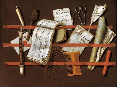 Letter Rack, Ca 1698-Edward Collier-Giclee Print