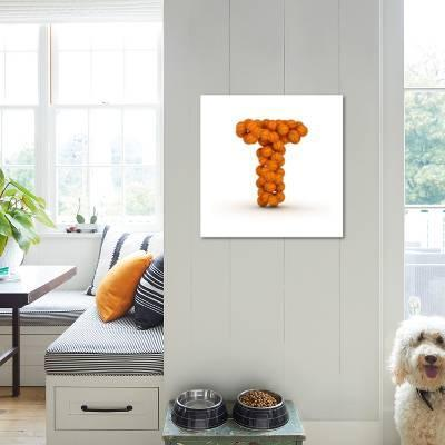 Letter T, Basketball Alphabet Art Print by iunewind | Art.com
