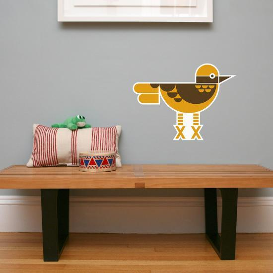 letter x - xavier the xenops wall decal wall decalwee society