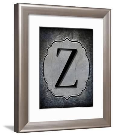 Letter Z-LightBoxJournal-Framed Giclee Print