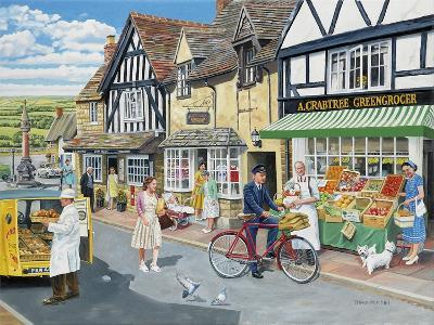 Letters for the Greengrocer-Trevor Mitchell-Giclee Print