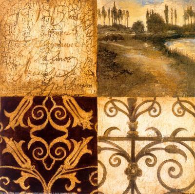Letters from Home II-Elizabeth Jardine-Art Print