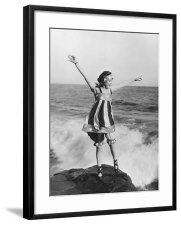 Letting Loose--Framed Photo