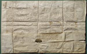 Lettre de Louis XI accordant la nationalité française à trois imprimeurs allemands, 1475