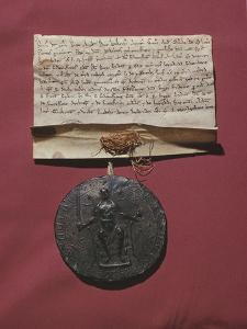 Lettre de Richard Coeur de Lion relative à la trêve faite avec Philippe Auguste