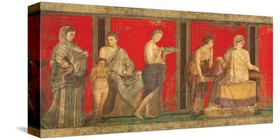 Lettura del Rituale--Stretched Canvas Print