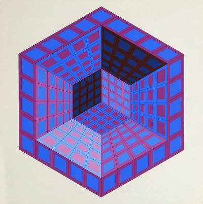 Letz-Victor Vasarely-Premium Edition