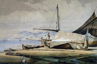 Leudi, Ligurian Fishing Boat--Giclee Print