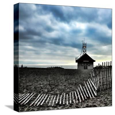 Leuty Lifeguard Station, Toronto-Martin Pinker-Stretched Canvas Print