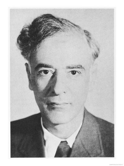 Lev Davidovich Landau Russian Physicist--Giclee Print