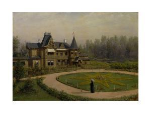 A Dacha, 1892 by Lev Felixovich Lagorio