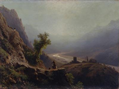 In the Caucasus Mountains, 1879