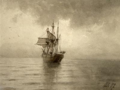 Sailing Ship, 1892