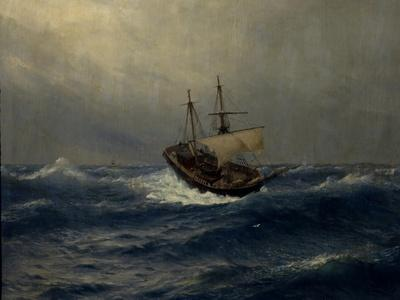 Storm on the Sea, 1887