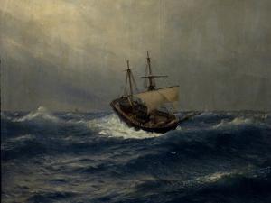 Storm on the Sea, 1887 by Lev Felixovich Lagorio