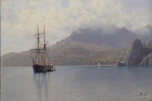 The Sea, 1888 by Lev Felixovich Lagorio