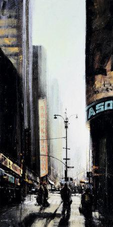 Lever du Jour, New York-Emmanuel Michel-Art Print