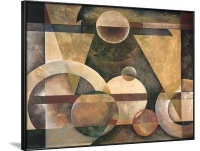 Levitating Sphere-Marlene Healey-Framed Art Print