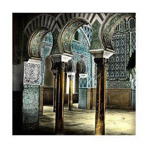 Seville (Spain), the Alcazar, Room of the Ambassadors by Levy et Fils Leon