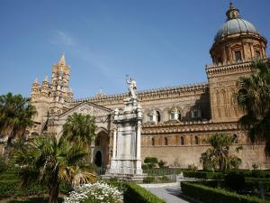 Cathedral, Palermo, Sicily, Italy, Europe by Levy Yadid
