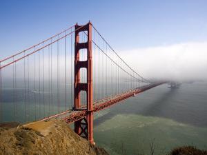 Golden Gate Bridge, San Francisco, California, United States of America, North America by Levy Yadid