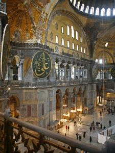 Haghia Sophia, UNESCO World Heritage Site, Istanbul, Turkey, Europe by Levy Yadid