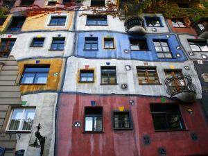 Hundertwasser House, Vienna, Austria, Europe by Levy Yadid