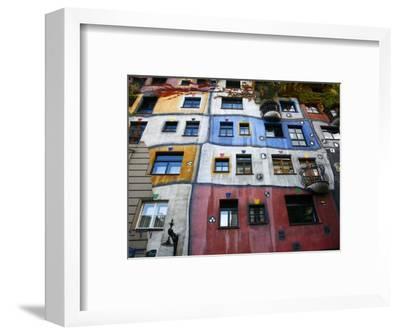 Hundertwasser House, Vienna, Austria, Europe