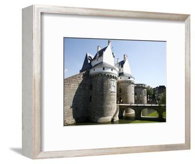 Ramparts of the Chateau Des Ducs De Bretagne, Nantes, Brittany, France, Europe